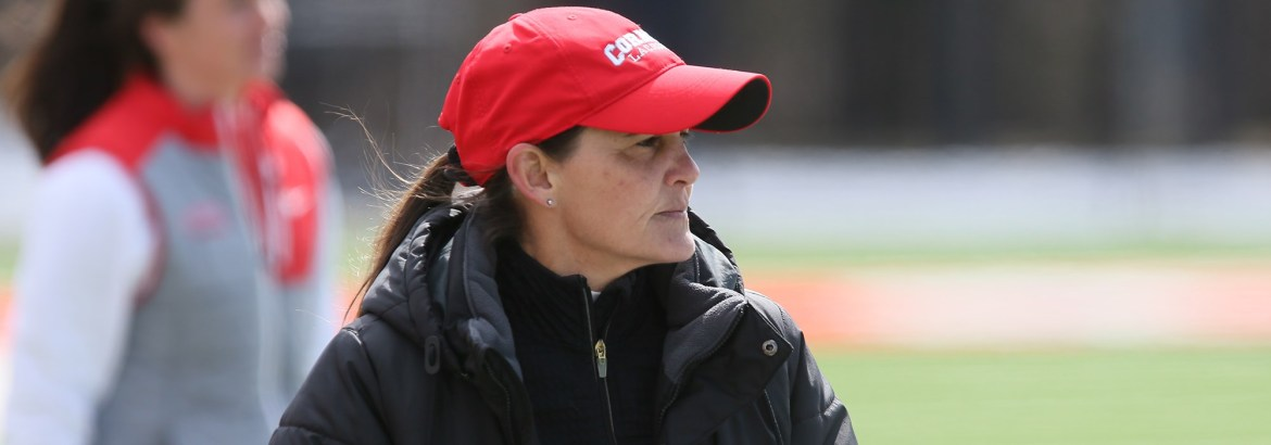 Head coach Jenny Graap '86 has spent the last 21 years building up both the Cornell program and her legacy.