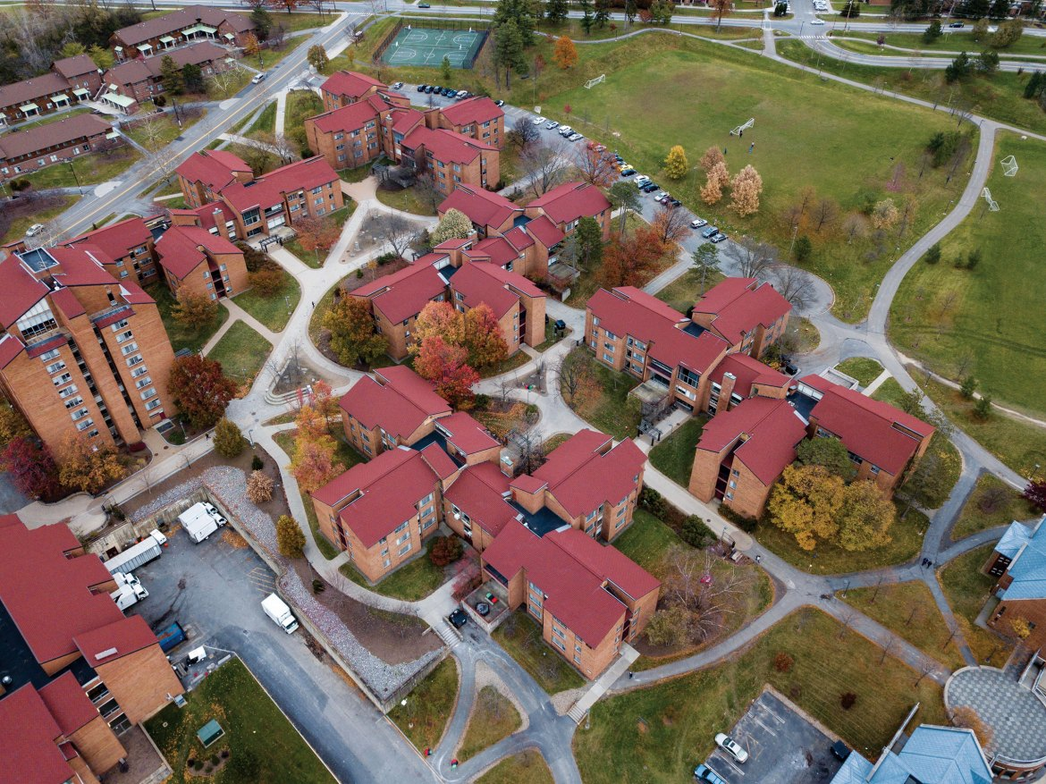Like the current North Campus, the new additions will run primarily on natural gas.