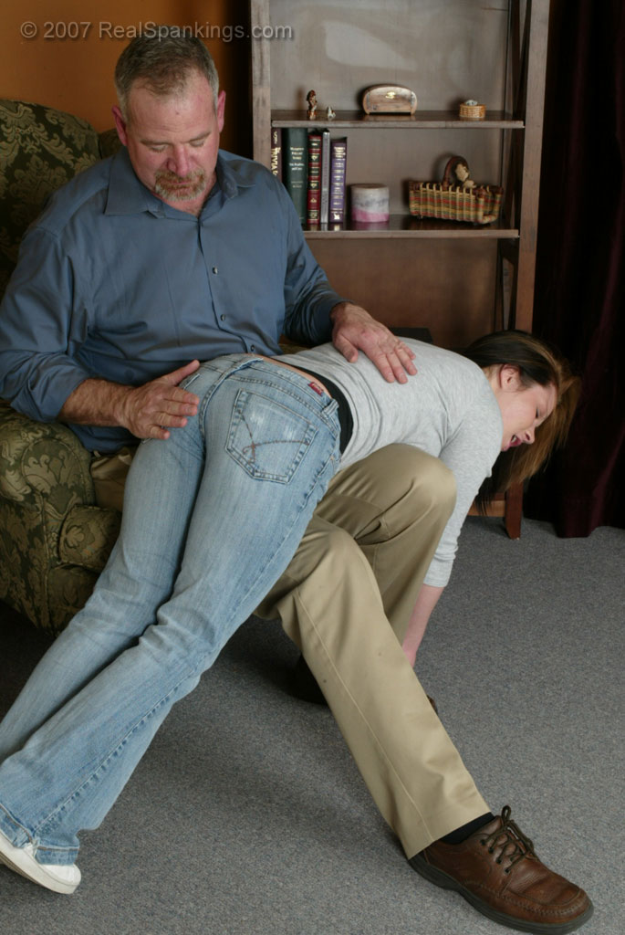 Over The Knee Story Spank