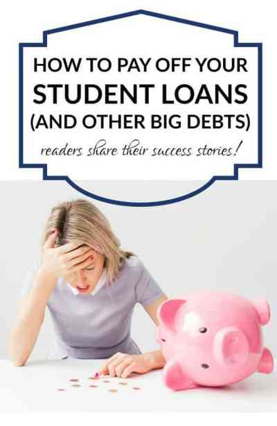 How to Pay Off Big Student Loans