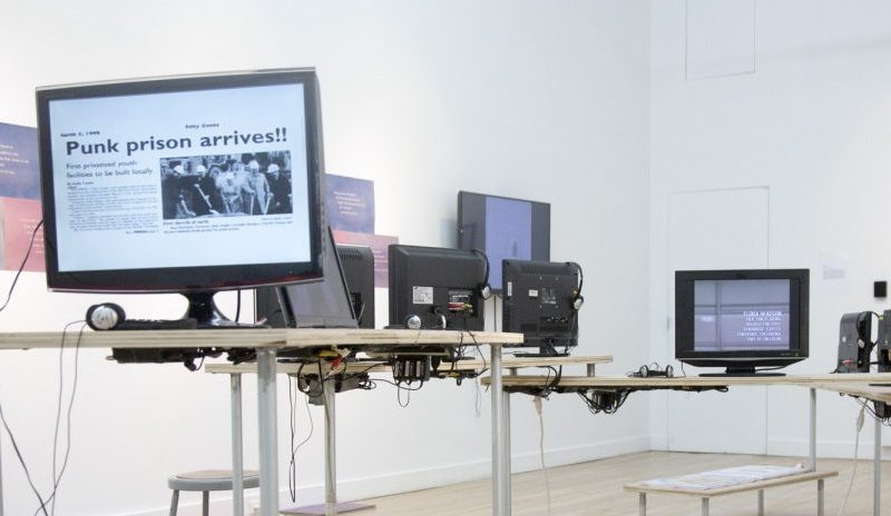 Installation at Cue Art Foundation, 2014