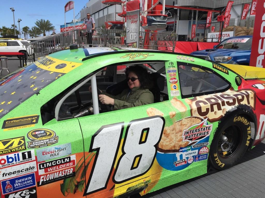 Corrina Lawson, Daytona Speedway