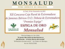 Espiga de Oro Monsalud 2011