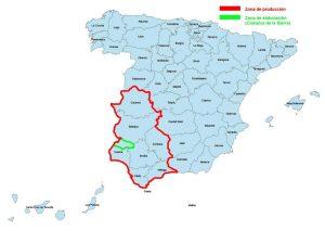 Provincias DOP Jamon de Huelva