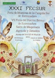 VII Feria del Porcino Ibérico y el Salón de Maquinaria Agrícola y Ganadera de Azuaga (Badajoz)