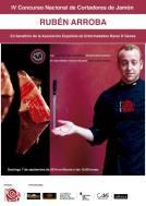 IV Concurso nacional de cortadores de jamón Ruben Arroba