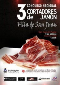 III Concurso Nacional de Cortadores de Jamón Ibérico Villa de San Juan de Puerto