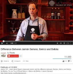 Diferencias entre jamón serrano, ibérico y bellota