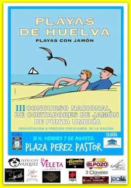 III Concurso Nacional de Cortadores de Jamón de Punta Umbría
