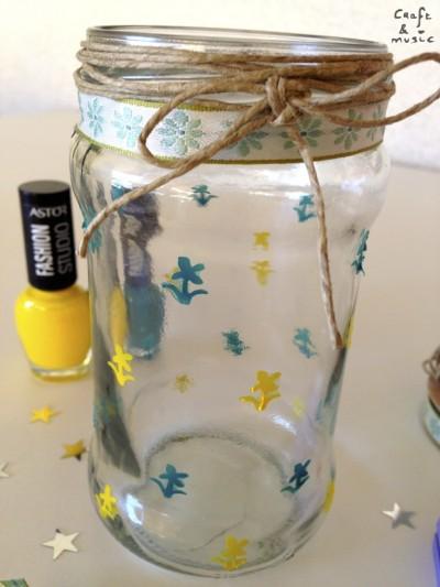 tarros de cristal decoración DIY detalles 2