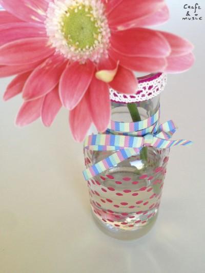 tarros de cristal decoración DIY florero detalles 1