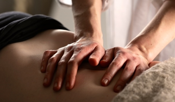 Abdominal Massage Session with Timothy Cosden