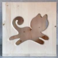 Cubo Cat's Home - da parete o da appaggio