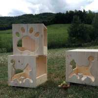 Cubo Cat's Home - da parete o da appoggio