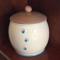 Portacrocchette in ceramica con impronte utili ed…