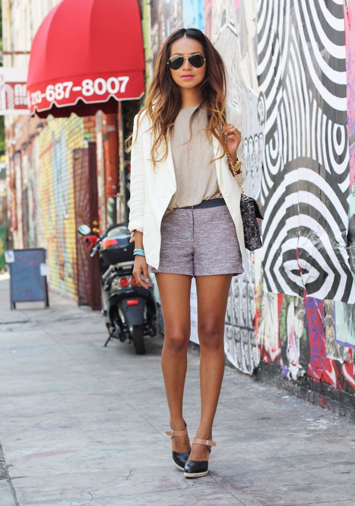 tweed-shorts