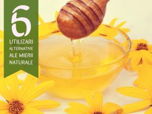 6 utilizări alternative ale mierii naturale. Află cum mai poți beneficia de mierea naturală!