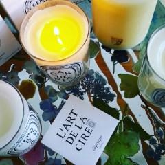 Diptyque Les Lilas (Lilac), Geranium Rosa (Rose Geranium), Gardenia, & Freesia Candles- the Floral Category Continued: Review and Photos