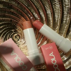 Coola Mineral Tint Liplux SPF 30 – New for 2016 – Nude Beach (Light Pink) & Summer Crush (Deep Pink): Review, Ingredients, and Swatches!