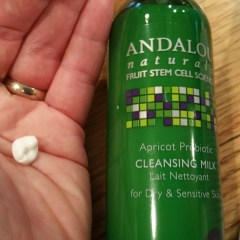 The Bacterial Benefit: Andalou Naturals Apricot Probiotic Cleansing Milk