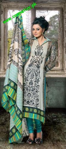Rashid Textiles Classic Lawn For summer 2012. (4)