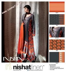 Nishat Linen Summer Collection For Women 2012. (4)