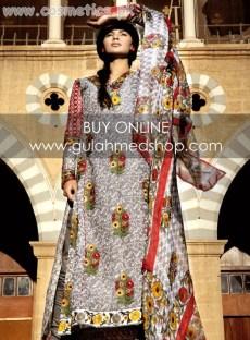 Gul Ahmed Latest Lawn Prints For Women 2012 001