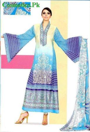 Vaneeza Ahmed Latest Summer Lawn Prints 2012-012