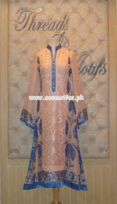 Threads And Motifs Latest Party Wear Outfits 2012 005
