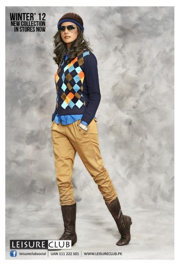 Leisure Club Casual Wear Collection 2013 For Men And Women 0029