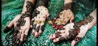 Black Mehndi Designs for Eid-ul-Fitr 2014