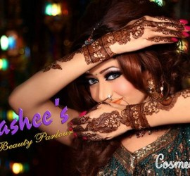 Latest Bridal Makeup by Kashee's Beauty Parlour 2015 1