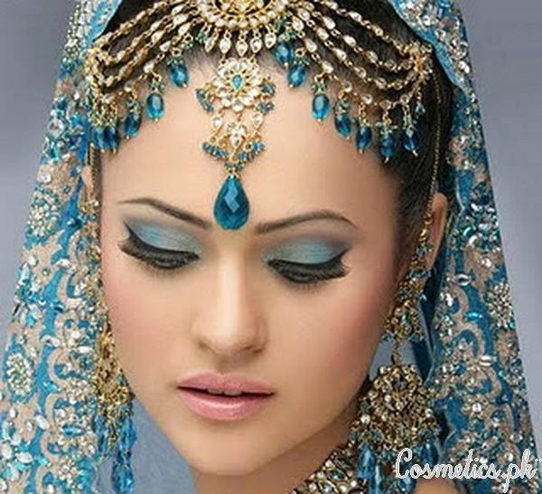 Latest Pakistani Bridal Eye Makeup 2015 - Ferozi