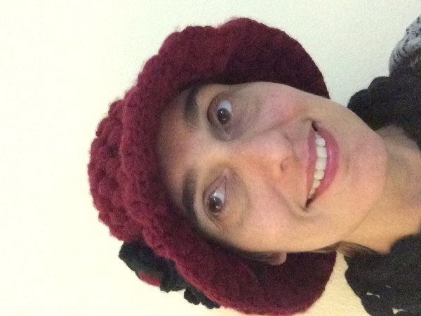 ...and the hat I did!