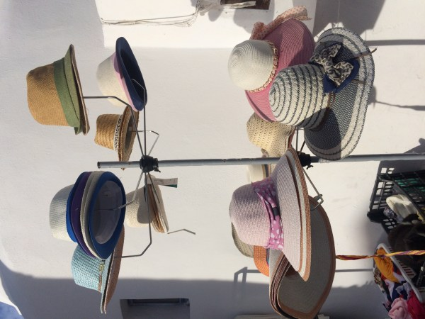 All the hats I did not buy