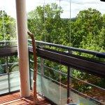 Kalasgrönt utanför balkongen :)