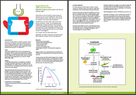Sektionen om restriktiva lungsjukdomar, med alveolit och lungfibros :)
