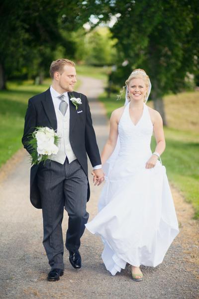 Lyckliga brudparet V!