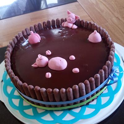 Mudbath-tårta :)