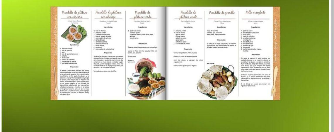 Recetarios de comida costarricense