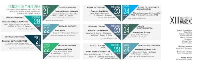 seminario composicion 14 conciertos