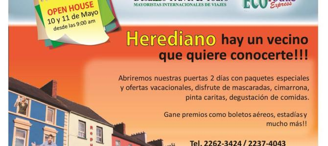 Habrá Open House de Turismo