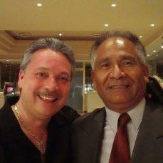 Con Eddie Montalvo
