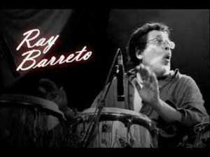 Ray Barreto con las congas