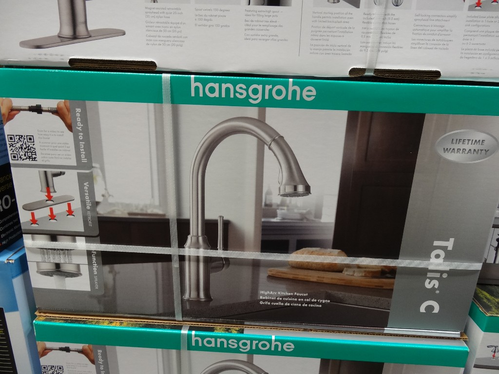 hansgrohe talis c kitchen faucet costco kitchen faucet Hansgrohe Talis C Kitchen Faucet Costco