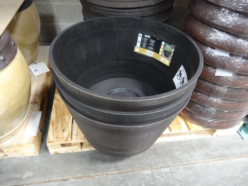 Large Of Whiskey Barrel Planter