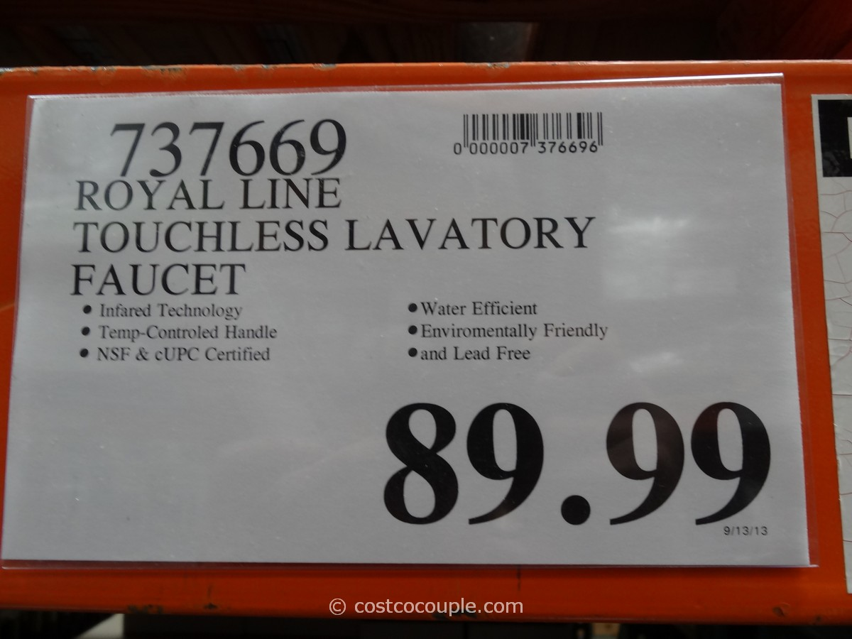 royal line touchless lavatory faucet costco kitchen faucet Royal Line Touchless Lavatory Faucet Costco 4