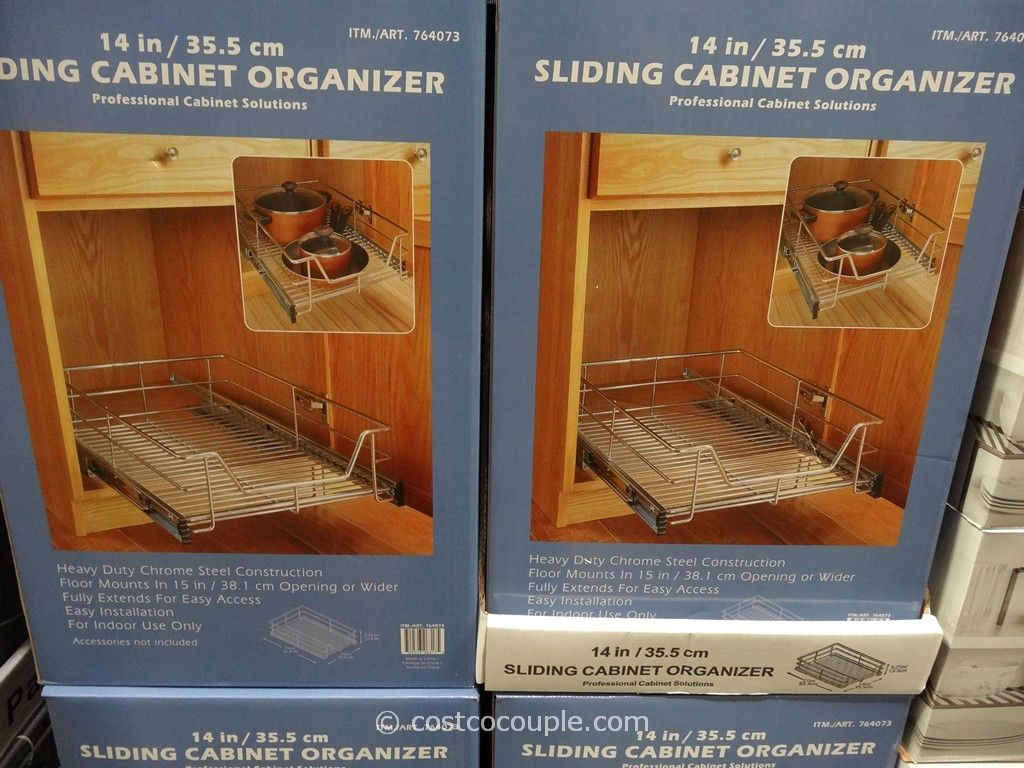 gourmet select sliding cabinet organizer costco kitchen remodel Gourmet Select Sliding Cabinet Organizer Costco 2