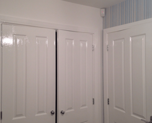 Perfectly finished doors in Gosforth - Painters and Decorators in Newcastle - Costello Decorators