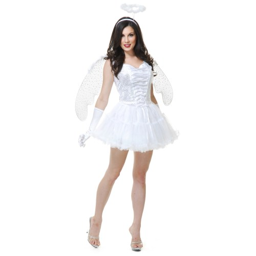 Medium Crop Of Angel Halloween Costume